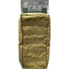 TAS 1307 LARGE MULTI USE KHAKI MOLLE TACTICAL POUCH HD 900D 32X16X8CM MILITARY