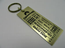 Duke Power Company Carowinds Celebration Admit One 1995 Brass Key Chain