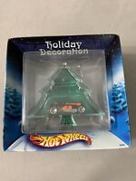 Hot Wheels 2002 Holiday Decoration Tree Ornament Old Fashion Roadster Car Sealed