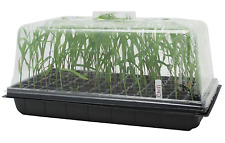 Seedling 10 x 20 in Propagation Starter Cloning Tray 7 in Tall Dome Vent Control