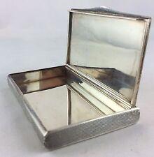 Reduziert! Jugendstil Silberetui Dose Schatulle um 1900 Sterling Silber 925