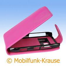 Flip Case Etui Handytasche Tasche Hülle f. Nokia N8 (Pink)