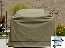 """Premium Tight Weave Heavy Gauge BBQ Grill Cover up to 67"""" Long"""