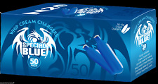 400 Whip Cream Chargers N 8g  whipped N   8 boxes of 50 Special Blue SB50