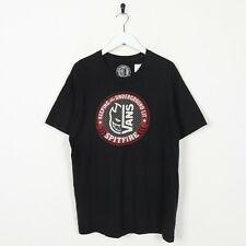 Vintage VANS Graphic T Shirt Black | Large L