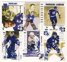 2003-04 Parkhurst Original Six Hockey Toronto Maple Leafs 100-Card Set