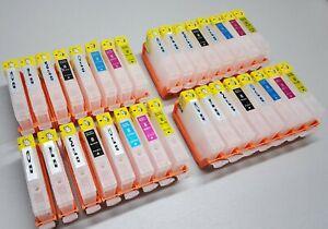 32 Refillable Ink Cartridges non OEM CLI-8  for Canon pixma Pro 9000 Mark II