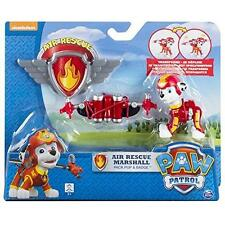 New Paw Patrol Air Rescue Marshall Pack Pup & Badge Playset