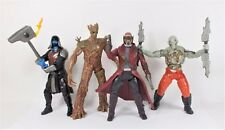 """Guardians of the Galaxy - 6"""" - Action Figures X 4 - Marvel - Hasbro 2014"""