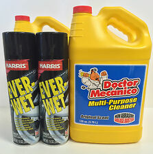 Doctor Mecanico Multi-purpose Cleaner (3 Units) & Ever-Wet Tire Shine (4 Units)