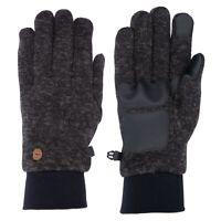 Trespass Tetra Mens Womens Gloves Waterproof Knitted For Winter