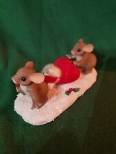 """Charming Tales """"Getting ready for Santa"""" Le #620 of 4000"""