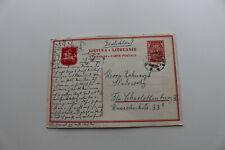 Postkarte,gel.1937 aus Litauen nach Charlottenburg