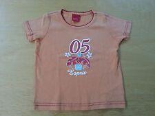 2/3 ANS FILLE T-shirt orange mc ESPRIT tbe