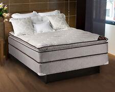 Spinal Comfort Pillowtop Queen Size Mattress and Box Spring Set
