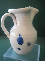 SMALL 8 OZ PENNSYLVAINA POTTERY WATER PITCHER