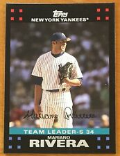 "MARIANO RIVERA, 2007 TOPPS IN EXCELLENT CONDITION ! COOL ! ""YANKEES TEAM SET"""