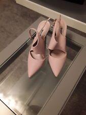 Dune shoes uk size 7, caprice , leather upper,sling back