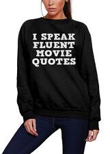 I Speak Fluent Movie Quotes - Film lover geek director Kids Sweatshirt