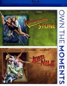 Romancing the Stone/Jewel of the Nile (Blu-ray Disc, 2012, 2-Disc Set) NEW
