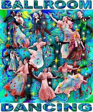 FRED & GINGER BALLROOM DANCING TRIBUTE T-SHIRT OR PRINT BY ED SEEMAN
