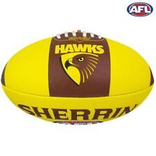 Hawthorn Hawks Junior AFL Size 5 Football - Sherrin