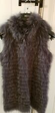 Georgio And Mario Grey Fur Gillet, size 40 (10/12). BNWT.