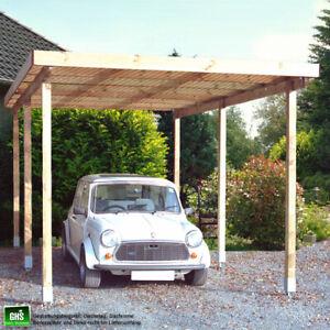 Carport 3x6 m, Überdachung oder Unterstand Holzbausatz