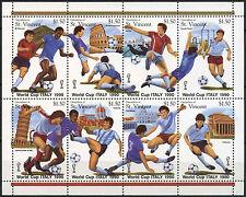 Grenadines St. Vincent 1989 SG#609-616 World Cup Football MNH Sheet #A92102