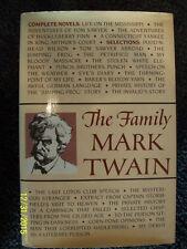 THE FAMILY MARK TWAIN - HUCK FINN, TOM SAWYER, CONN. YANKEE, KING ARTHUR'S CT