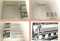 Betriebsanleitung Mercedes Benz 208D 210/D 308D 408D 310/D 410/D T1 1988