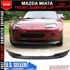 06-08 Mazda Miata MX-5 MX5 Gv Front Bumper Lip Spoiler