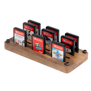 Game Card Holder for Nintendo Switch with 12 Card Slots Storage Case Portable