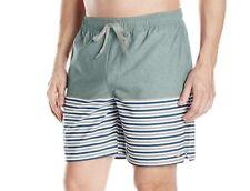 """Quiksilver Waterman Breezy Stripe 18"""" Volley Boardshorts Eqmjv03005 XL"""