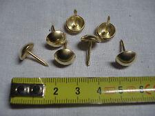 180 clous de tapissier perle fer 11 mm doré ,fauteuil, siège