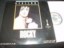 "ROCKY<>SYLVESTER STALLONE<>2X12"" Laserdiscs (RARE)<>MGM/UA ML 100249-SIDE 3 CAV"