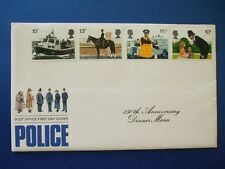 1979 POLICE COVER MENU SIGNED BY JIM ANDERTON [ CHIEF CONBSTABLE G.M.P ]
