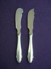 WMF 2200 Buttermesser + Käsemesser Heftgriff Messer 19,5 cm 90er Silber Nirosta