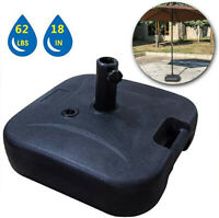 """18"""" Round Umbrella Base Stand Market Patio Standing Outdoor Living Heavy Duty"""
