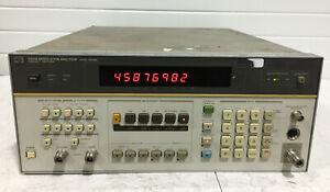 HP / Agilent 8901B Modulation Analyzer