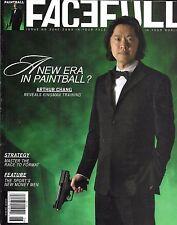 Facefull paintball magazine Arthur Chang Kingman training New money men Format