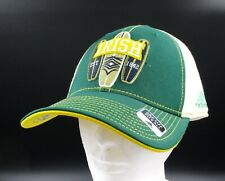 0dbb1cb59897e Notre Dame Fighting Irish Adidas Green White One Size Fits All Cap Hat  Brand New