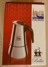 Edler Coffeemaker Espressomaker Italmax Edelstahl USA NEU