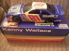 Kenny Wallace Square D Bank #81 1997 Thunderbird 1:24 Diecast - 1 of 6,000
