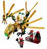 LEGO 70503 NINJAGO *GOLDENER DRACHE* KOMPLETT Goldener Ninja Lloyd kai zane cole