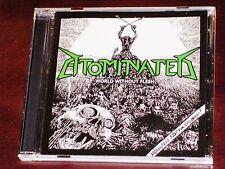 Atominated: World Without Flesh CD 2013 Slaney Records Ireland SLANEY 022 NEW