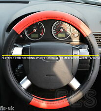 DAIHATSU FAUX LEATHER RED STEERING WHEEL COVER