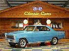 1966 Chevrolet Nova  1966 Chevrolet Nova – Blue