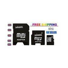 TakeMS 8 Gb Micro Sd Hc Clase 6 + mini Sd + Adaptador Sd