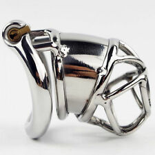 "S063 Handmade Stainless Steel Male Chastity Cage Device - Extra Large 2.25"" Ring"